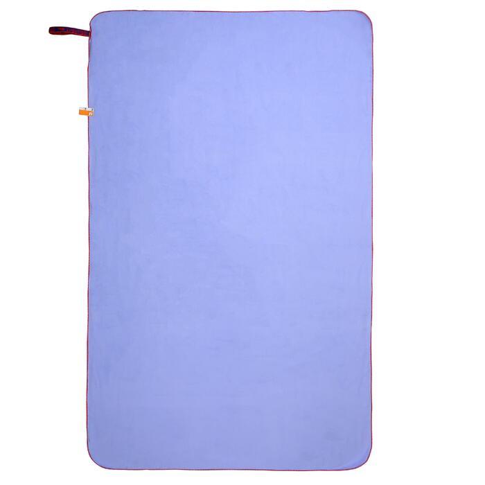 微纖維毛巾,L號 - 靛藍色