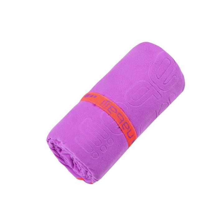微纖維毛巾,L號 - 紫色