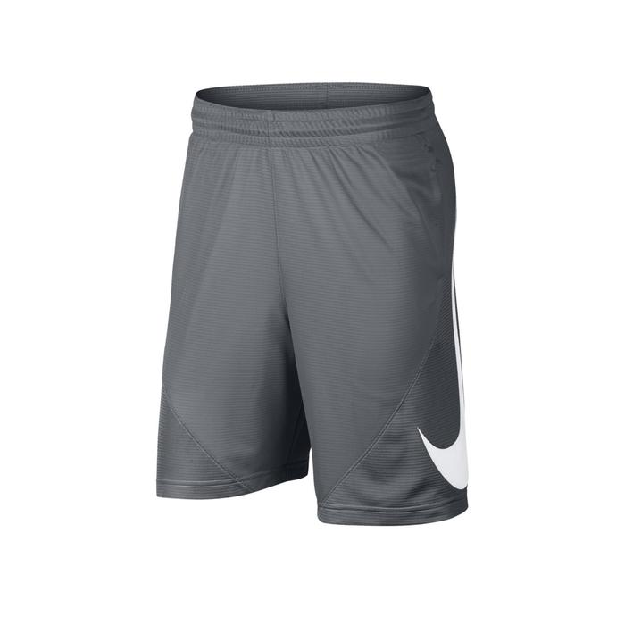 Basketbalshort grijs (heren)
