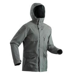 Wandelregenjas voor heren NH500 protect kaki