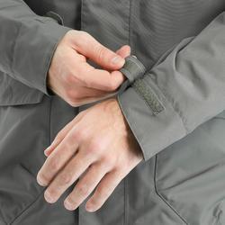 Veste Imperméable randonnée nature NH500 protect kaki homme
