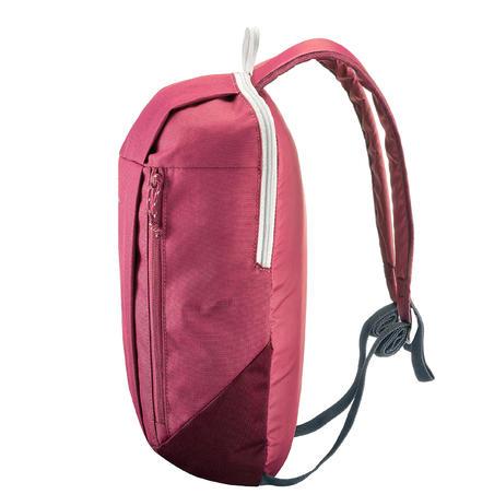 Рюкзак NH100 для туризму, 10 л - Рожевий