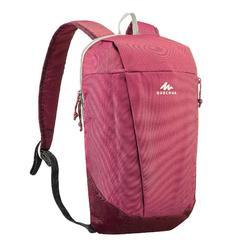 Wanderrucksack Naturwandern NH100 10l rosa