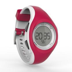 Reloj cronómetro running W200 S rojo y blanco