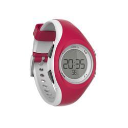 Hardloophorloge met stopwatch W200 S rood en wit