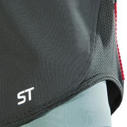 Short VTT ST 500 femme Kaki