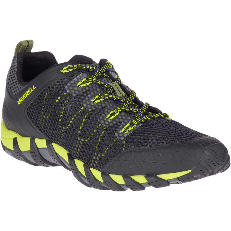 MEN HIKING SANDALS/SHOES WARM WEAT Hiking - Maipo Mens Walking Shoes - Black  MERRELL - Outdoor Shoes