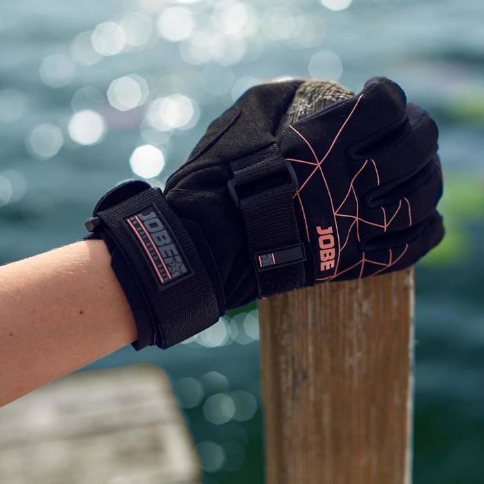 Guantes Para Esquí Acuático Jobe Stream Negro Protección articular