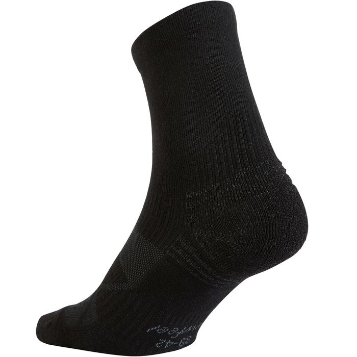 Walkingsocken WS 100 Mid Kinder schwarz 3er-Pack