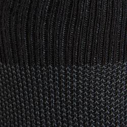 Wandelsokken voor kinderen WS 100 mid zwart (3 paar)