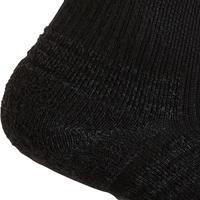 Fitness/Nordic Walking Socks WS 100 Mid 3-Pack - black
