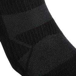 Chaussettes marche sportive/nordique WS 100 Mid noir (3 paires)