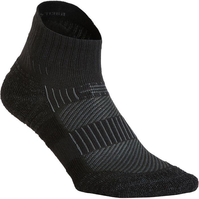 Chaussettes marche sportive WS 500 Low noir