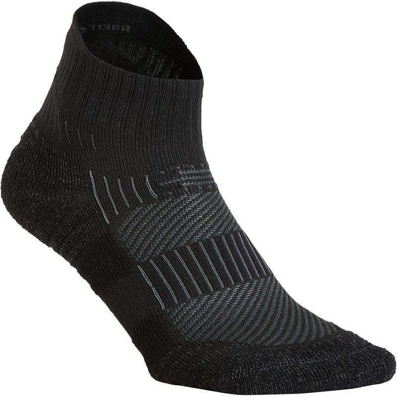 WS 500 Low fitness walking socks - black