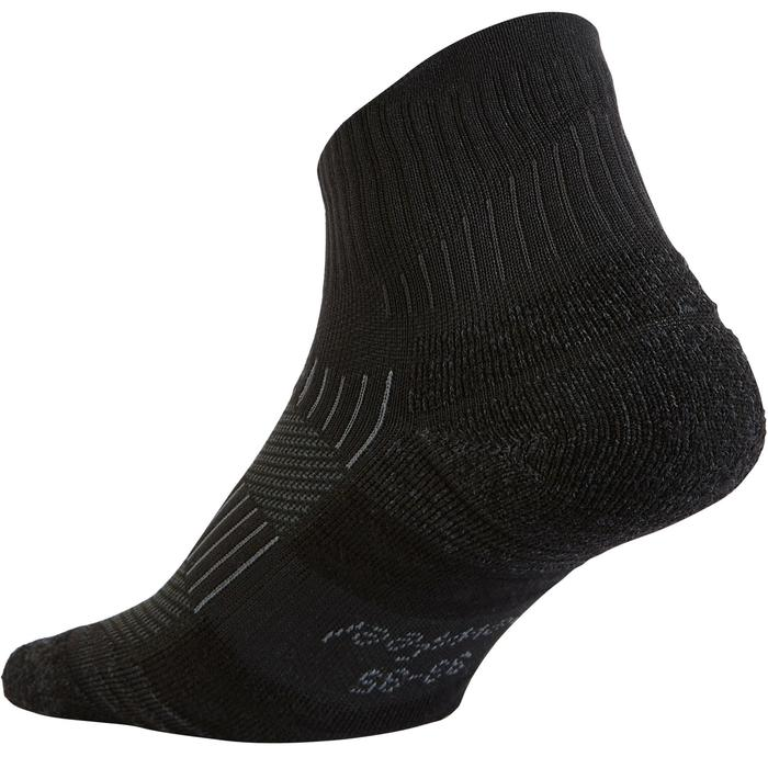 Sokken voor sportief wandelen WS 500 low zwart
