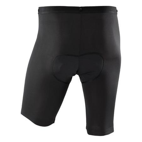 Sous-short vélo de montagne 900 noir - Hommes