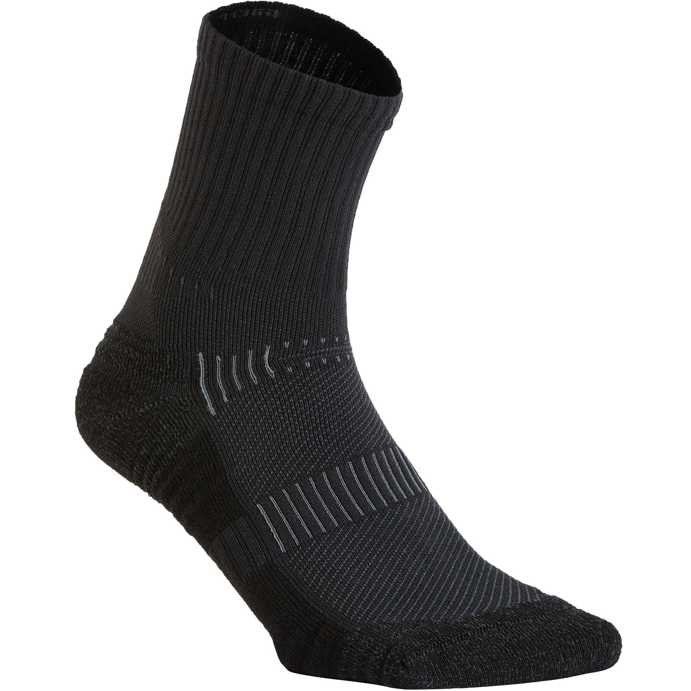 Newfeel Sokken voor sportief wandelen WS 500 mid zwart kopen