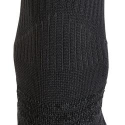 Chaussettes marche sportive WS 500 Mid noir