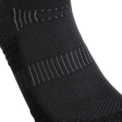 Calcetines Caminar WS 500 Mid Negro