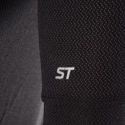 MTB-shirt met korte mouwen ST 500 zwart voor heren