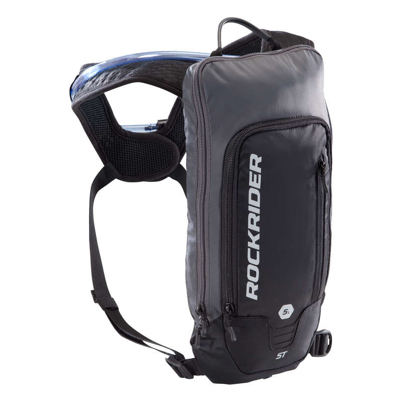 SPORT TRAIL MTB WATER BAG ADULT Bags - ST500 Hydration Pack, Black - 3L ROCKRIDER - Bags