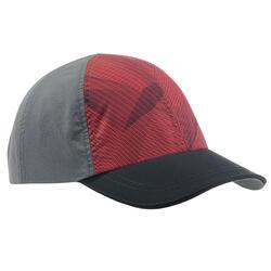 兒童款健行帽MH100-酒紅色