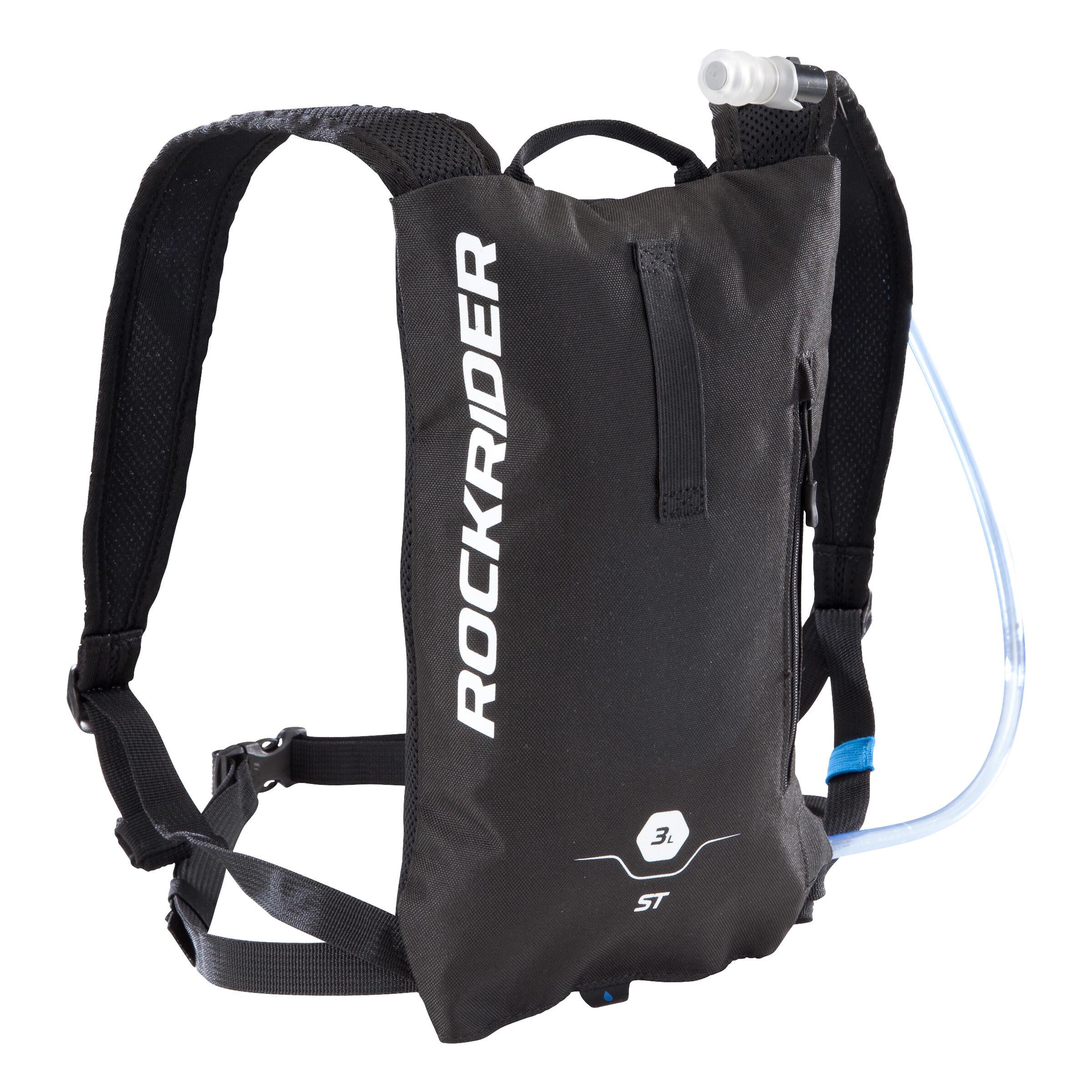 MTB-Trinkrucksack 100 3 Liter schwarz | Taschen > Rucksäcke > Sonstige Rucksäcke | Schwarz | Rockrider