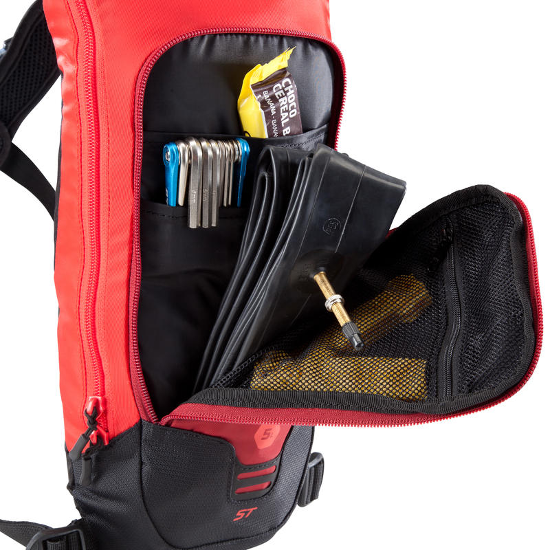 500 Mountain Biking Hydration Backpack 3L - Red