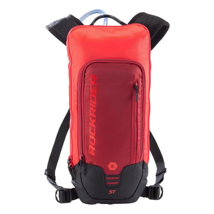 Fietsrugzak met 1L waterzak ST 500 rood 3 liter rood