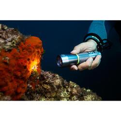 Duiklamp SCD spot 100 lumen 3000 lux waterdicht tot op 100 m