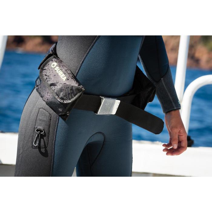 Loodgordel met zakken voor duiklood