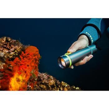 Lampe de plongée rechargeable SCD 400 Lumens, 2700 lux, 2 positions
