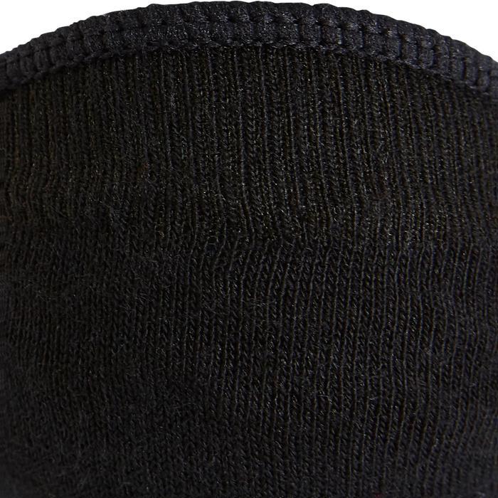 Calcetines marcha deportiva WS Fresh 140 Bailarinas negros (lote de 2 pares)