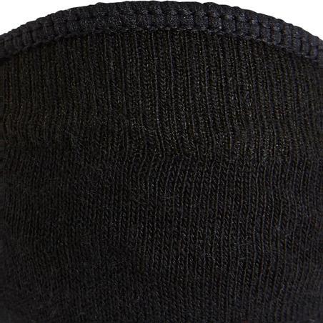 Kaus kaki balet jalan kebugaran WS Fresh 140 hitam (2 pasang)