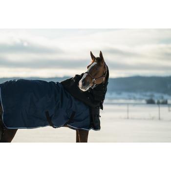 Halsstuk Allweather 200 ruitersport paard zwart