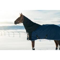 Neck cover impermeable equitación caballo ALLWEATHER LIGHT negro