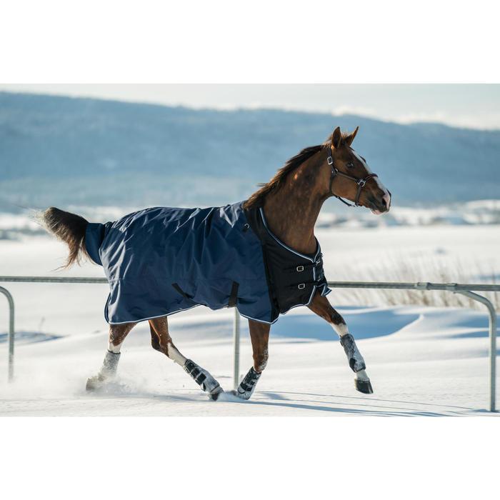 Regendecke Allweather 300 1000D Pferd/Pony blau