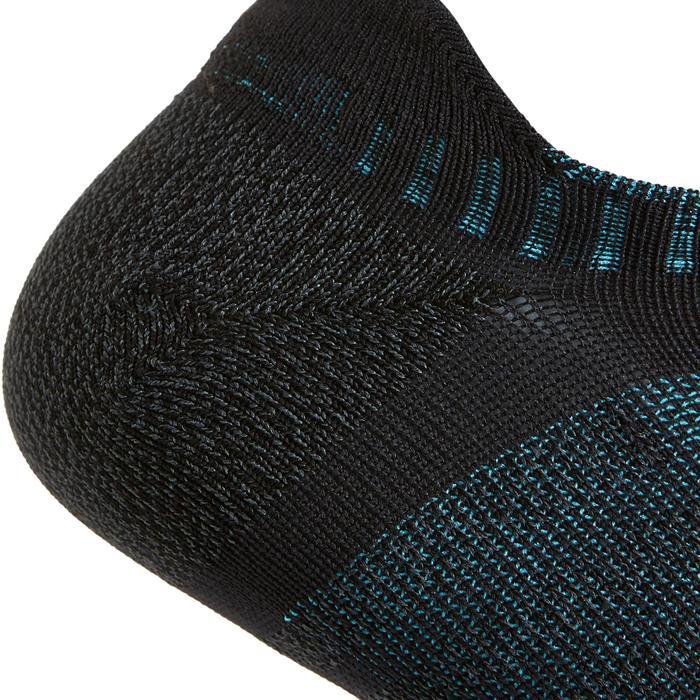 Calcetines Caminar/Marcha Nórdica/Atlética WS 900 Invisible Negro
