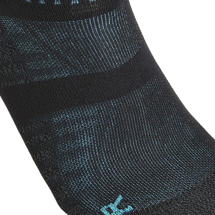 Sokken sportief wandelen / nordic walking / snelwandelen WS 900 invisible zwart