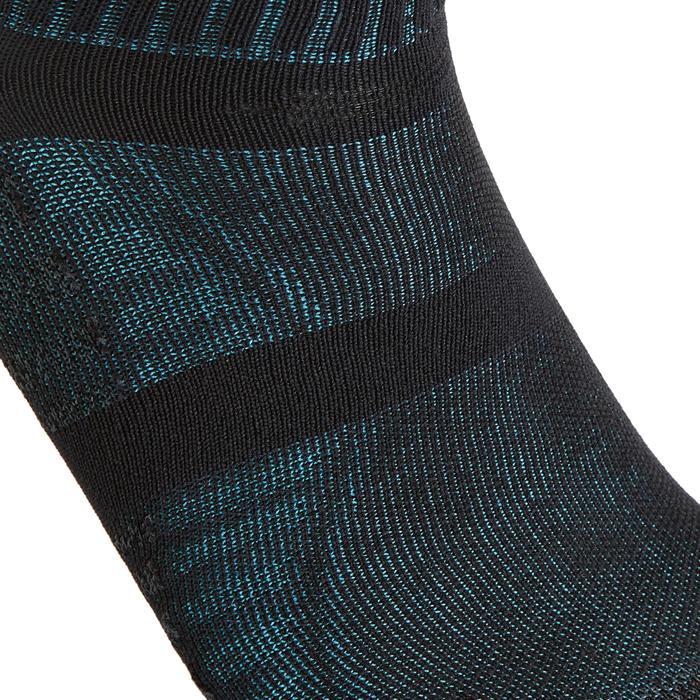 Sokken voor sportief wandelen en nordic walking WS 900 low zwart