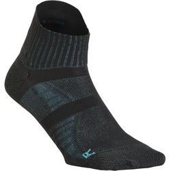 Chaussettes marche sportive, nordique, athlétique WS 900 Low noir