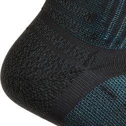 Sokken voor sportief wandelen/nordic walking/snelwandelen WS 900 Low zwart