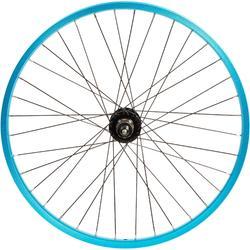 Roue vélo enfant Subsin 24 pouces arrière cassette bleu
