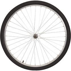 Rueda para bicicleta urbana de 28 delantera sp plata + p