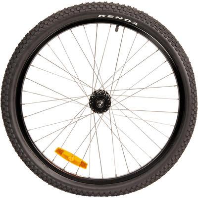 Roue vélo enfant Subsin 24 pouces avant noir