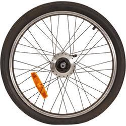 Hinterrad Faltrad 20 Nexus schwarz