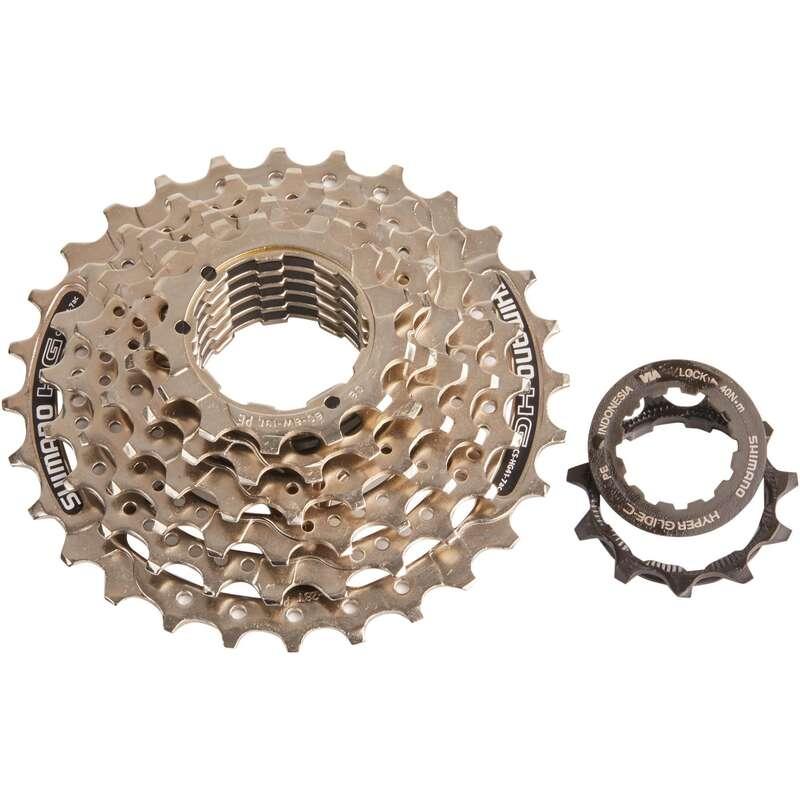 PŘEVODY SILNIČNÍ KOLA Cyklistika - KAZETA 7 RYCHLOSTÍ 11×28 HG 41 SHIMANO - Náhradní díly na kolo