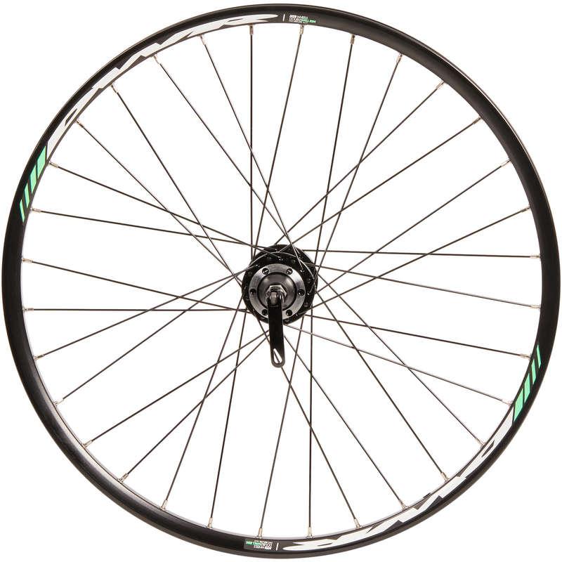RUOTE BICI BAMBINO Ciclismo, Bici - Ruota posteriore 24 disco. BTWIN - PEZZI DI RICAMBIO BICI BAMBINO
