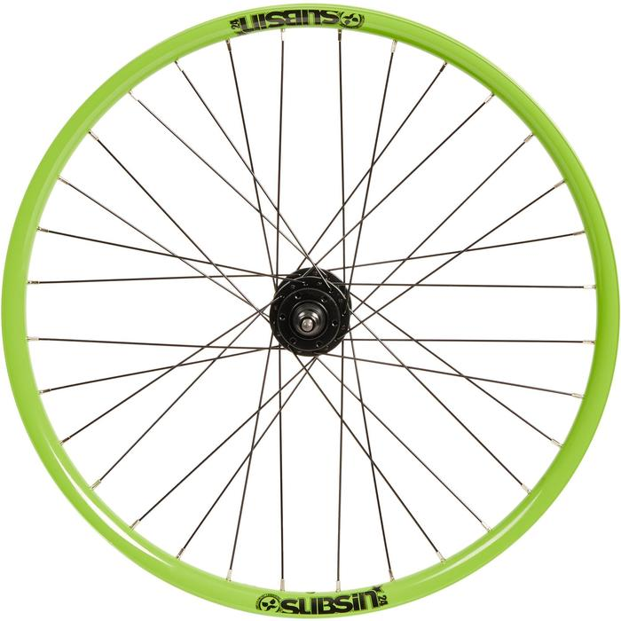 Roue vélo enfant Subsin 24 pouces avant vert