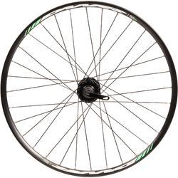 Rueda bicicleta júnior 24 pulgadas delantera doble pared disco negro